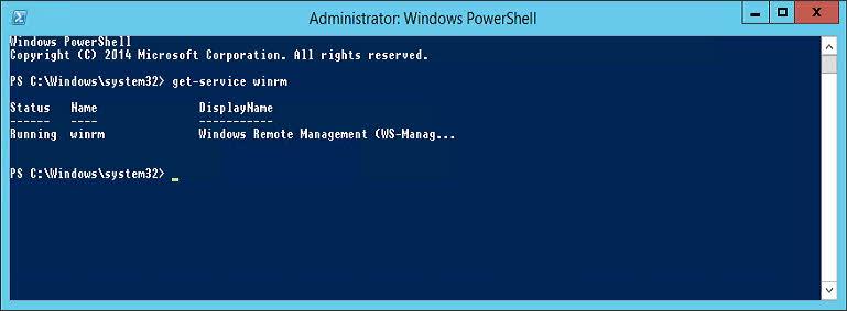 Administrar Windows mediante linea de comandos con WinRS WinRM (1)
