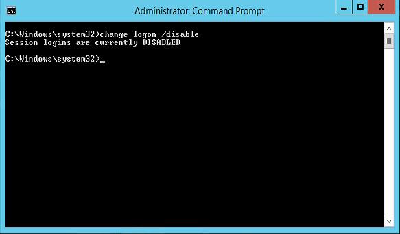 Deshabilitar inicio de sesión remoto en Windows