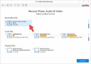 sTELLAR Photo Recovery - recuperar archivos sd