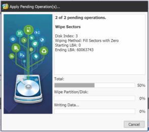 Minitool Partition Wizard - Eliminar datos de forma segura de un disco 2