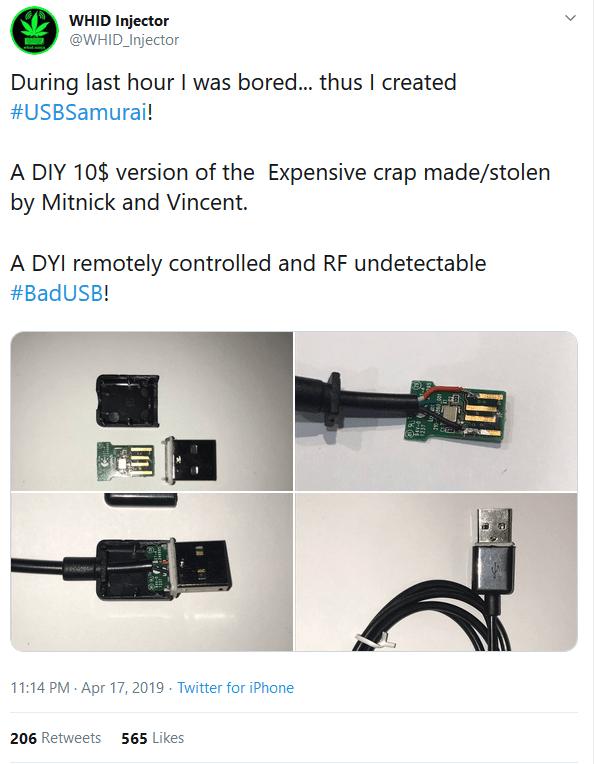 USB Samurai