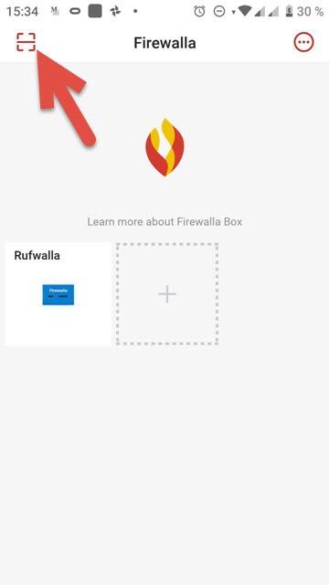 Registrar nuevo dispositivo Firewalla
