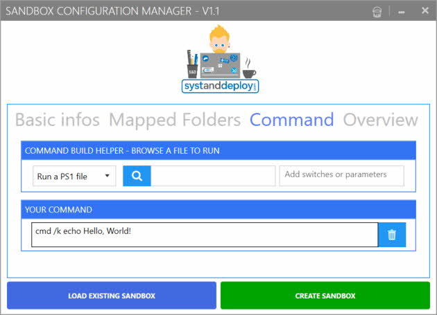 Windows Sandbox Configuration Manager 2