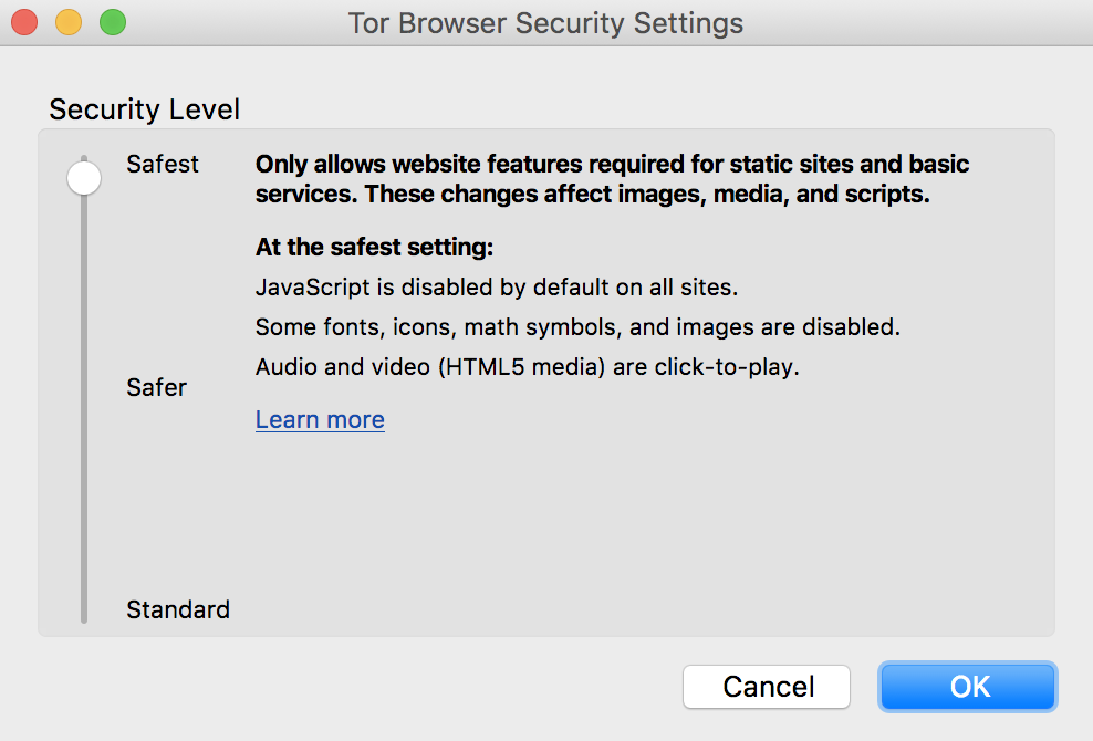 Tor browser safest