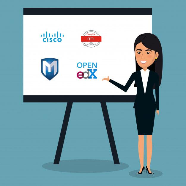 Cursos gratis de seguridad informática y redes CISCO