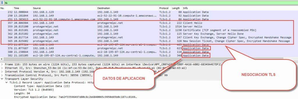 Descifrar tráfico TLS (e)