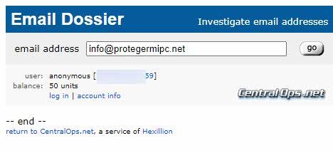 Pruebas de Phishing Email-dossier