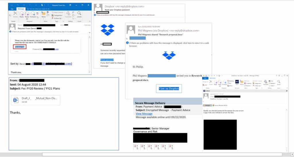 Pistas para reconocer un email con phishing