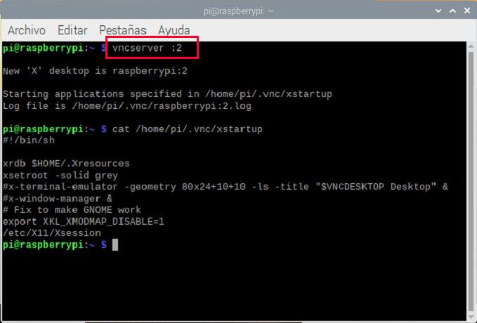 Instalar VNC en Raspbian