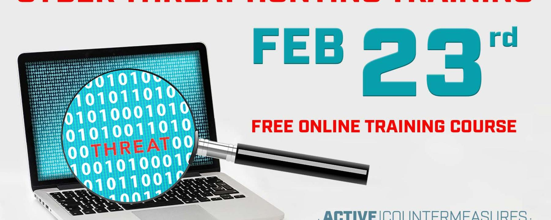 Curso gratuito de Cyber Threat Hunting Active Countermeasures