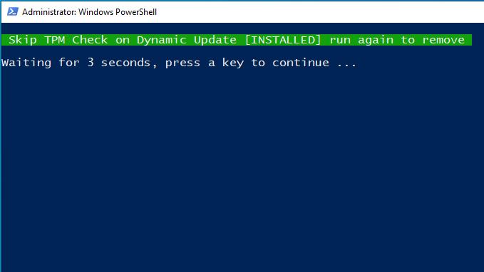 Hacer bypass del mecanismo de verificación TPM al instalar Windows 11