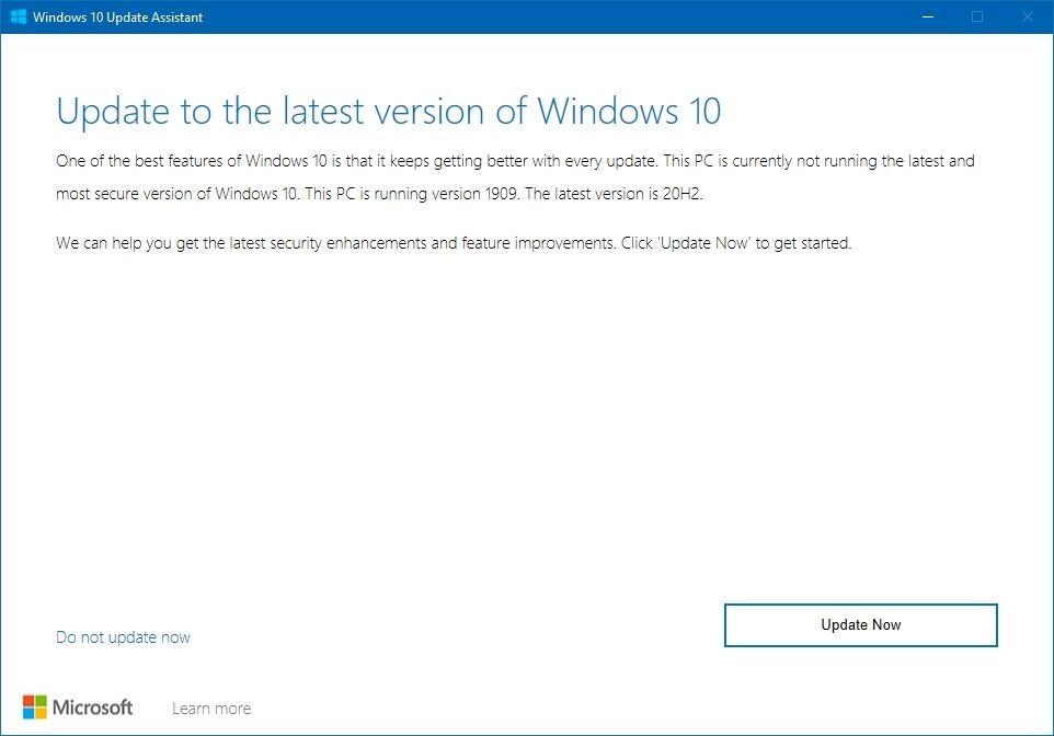 Asistente para actualización de Windows 11